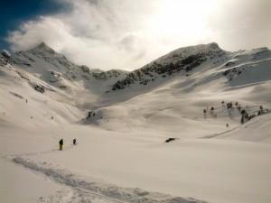 Zbytek cesty si užíváme výhledy z Bernina expresu