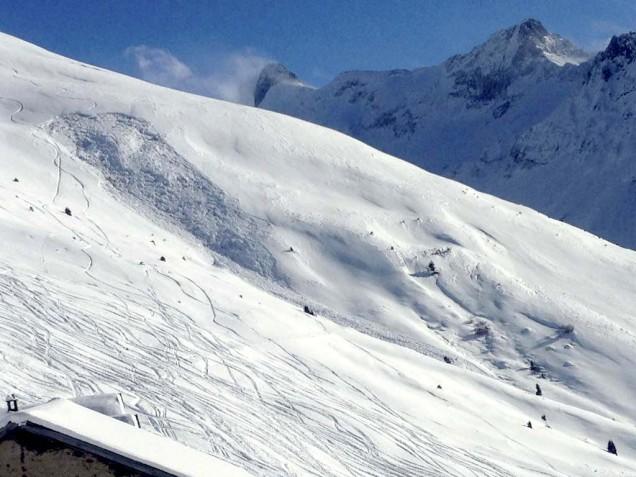 Bergun lavina: odtrhy na sjezdovce