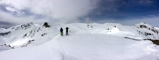 Livigno backcountry