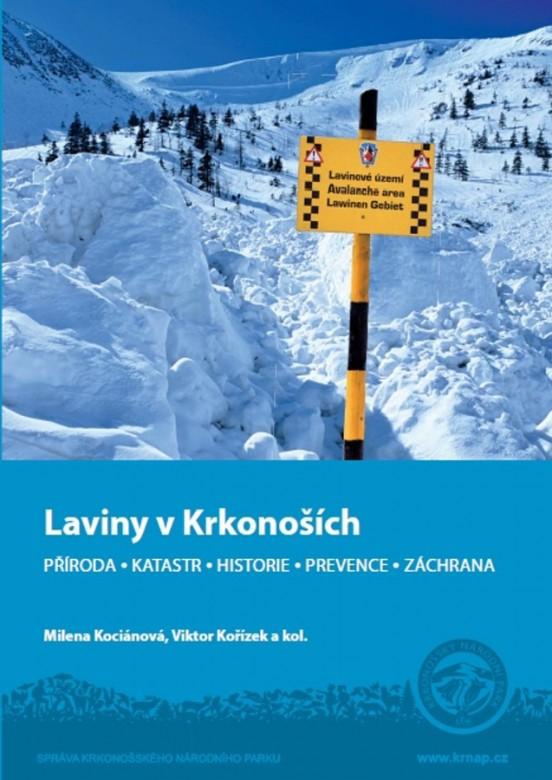 Laviny v Krkonosich_kniha